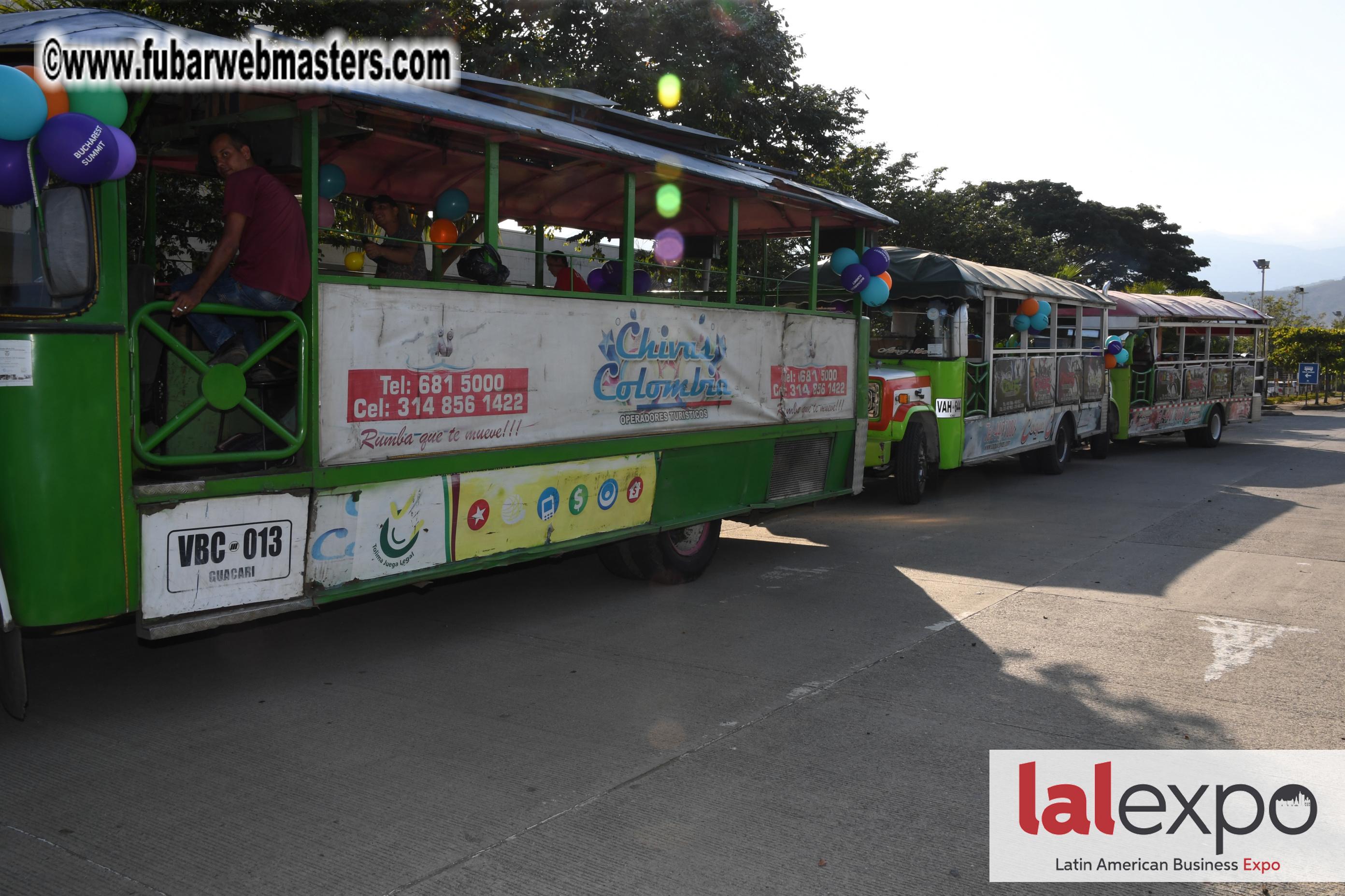 Chiva Party Bus tour