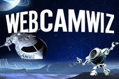 Fly to the Moon with WebcamWiz