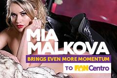 Mia Malkova Brings Even More Momentum to FanCentro